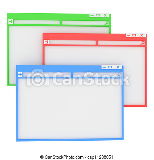 Illustration informatique fen tre banque d for Fenetre informatique