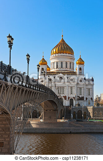 Church of Christ the Savior in Moscow - csp11238171