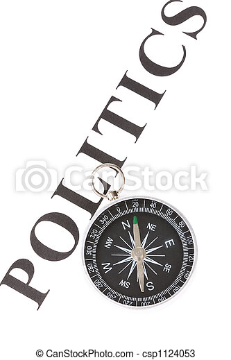 headline politics and Compass - csp1124053