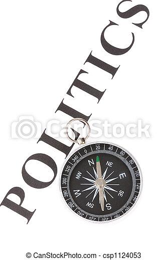 headline politics and Compass - csp1124053