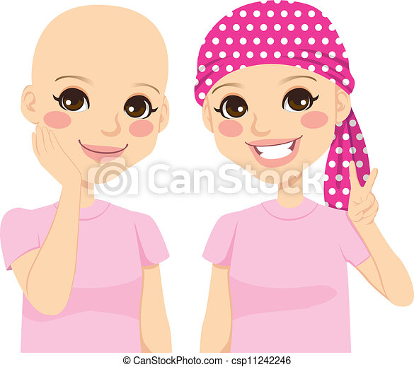 Young Girl With Cancer - csp11242246