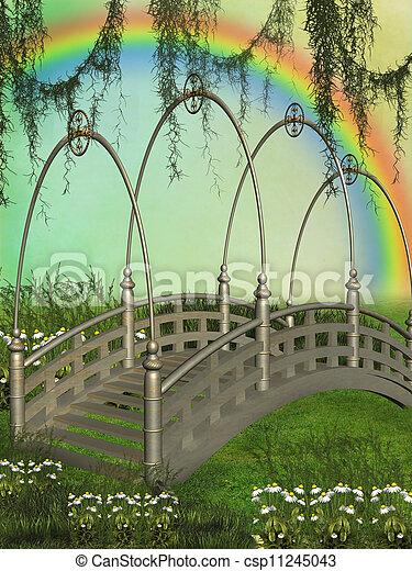 Fantasy bridge - csp11245043