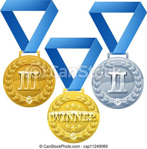 Medals Illustration - csp11249069