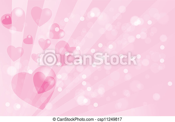 Valentines day card template - csp11249817