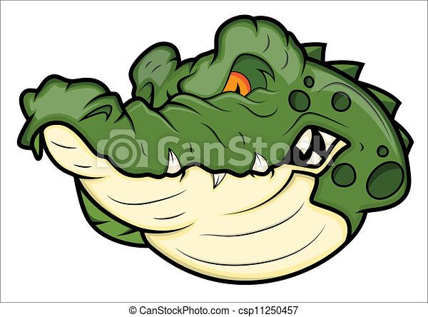 Angry Alligator Vector...