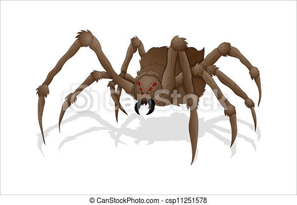 Creepy Spider - csp11251578