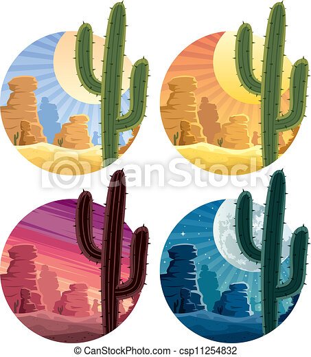 Mexican Landscape Artists Mexican Desert Landscape in 4