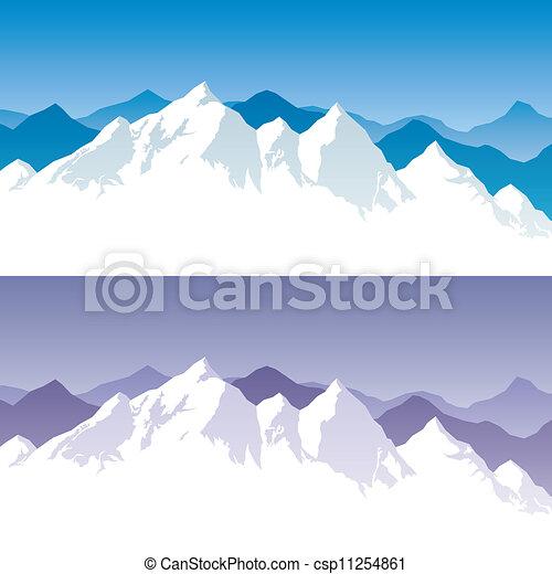 Mountain Range - csp11254861