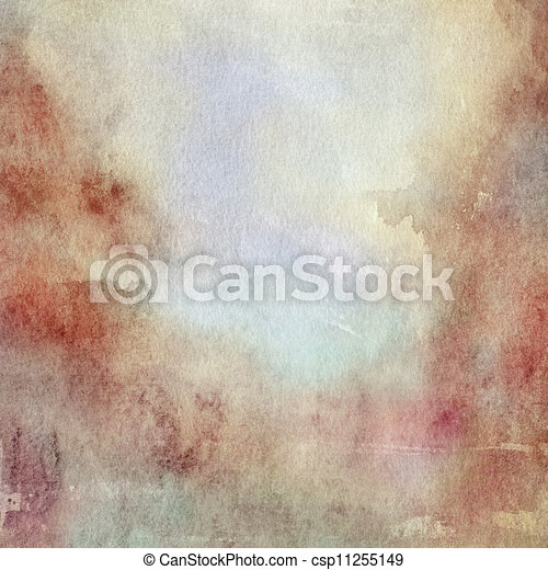 watercolor fall background - csp11255149