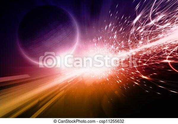 Abstract scientific background - csp11255632