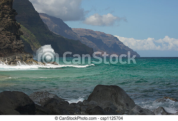 Kauai\'s Napali Coastline - csp1125704
