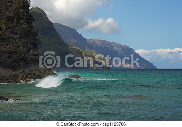 Kauai\'s Napali Coastline - csp1125706