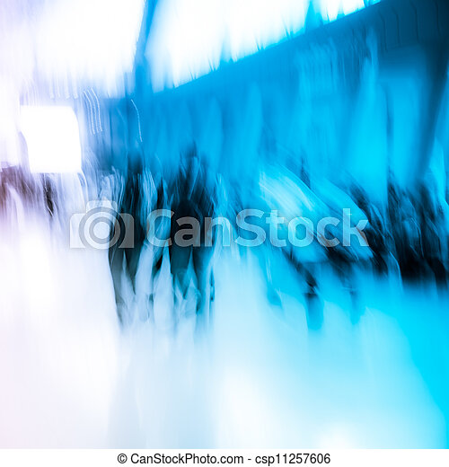 city business people crowd - csp11257606