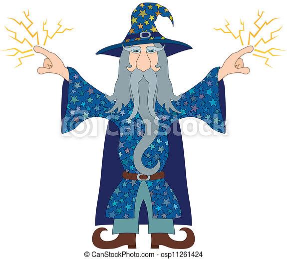 lance magicien clair
