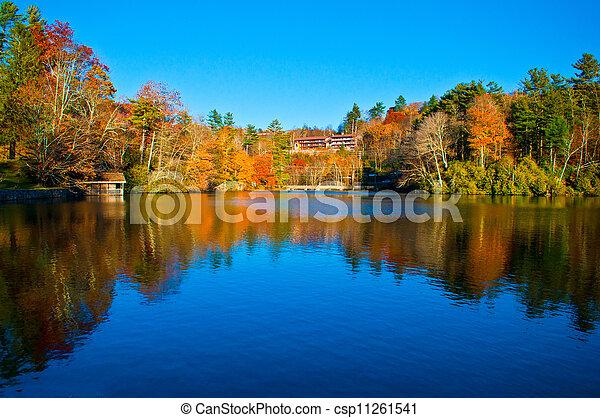 Autumn Reflections  - csp11261541