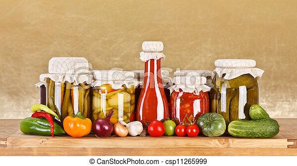 Vegetable preserves - csp11265999