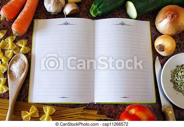 Recipe Book - csp11266572