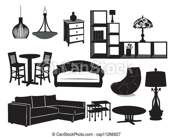 Living room - csp11266627