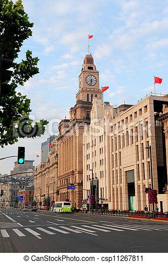 Shanghai historic architecture - csp11267811