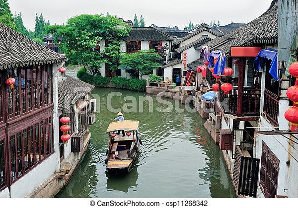 Shanghai rural village - csp11268342
