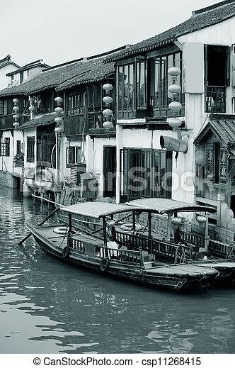Shanghai rural village - csp11268415