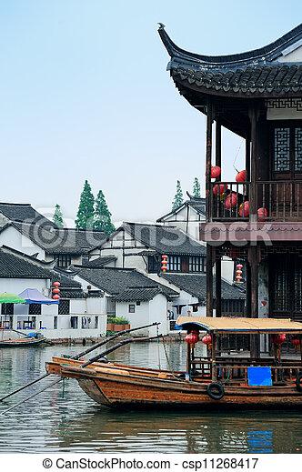 Shanghai rural village - csp11268417