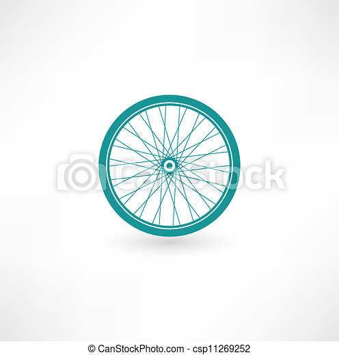 Bicycle Wheel Symbol - csp11269252