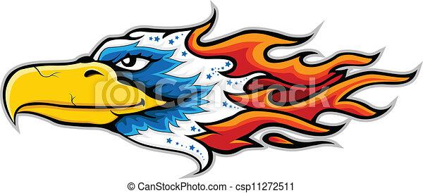 Eagle head Vector Clip Art EPS Images. 2,590 Eagle head clipart ...