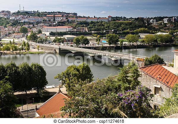 City panorama of Coimbra - csp11274618