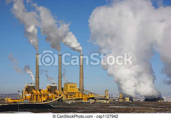Coal Power Plant - csp1127942