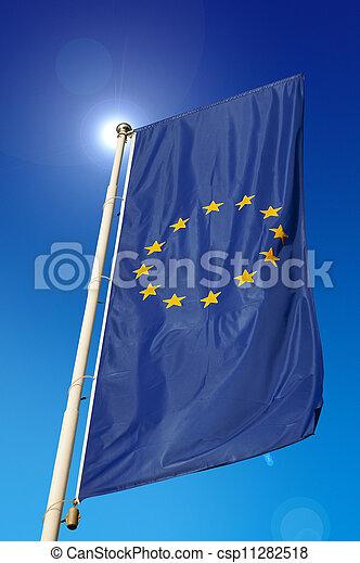 European Union Flag - csp11282518