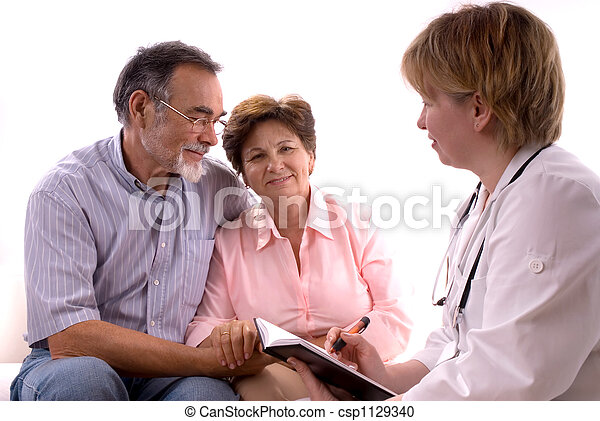 visiting a doctor - csp1129340