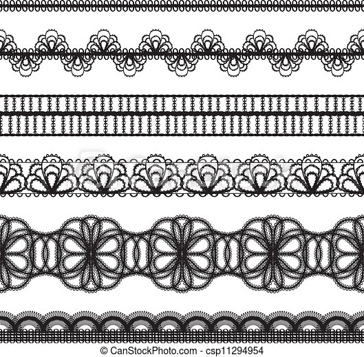 lace border drawing - photo #9