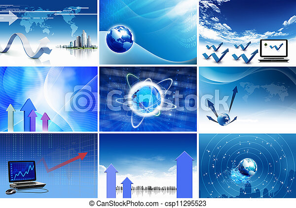 Business and communications concept - csp11295523