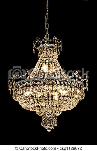 photo de lustre luxe grand luxe lustre lot de cristaux csp1129672 recherchez des. Black Bedroom Furniture Sets. Home Design Ideas