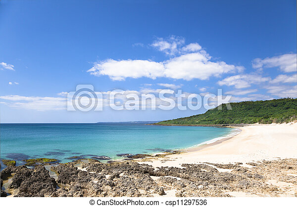 shadao beach in the kenting national park . taiwan - csp11297536