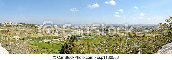 Malta Countryside Panoram - csp1130558