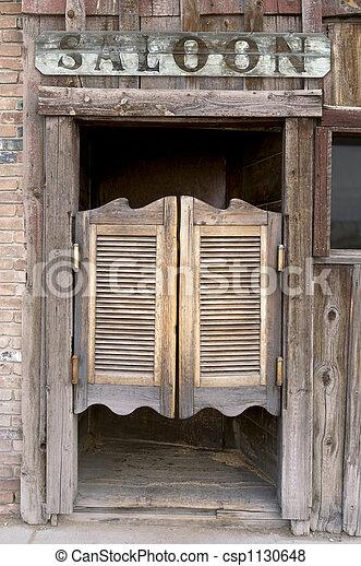 Western Saloon Doors - csp1130648