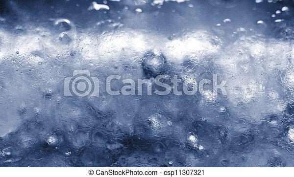 Closeup of ice - csp11307321
