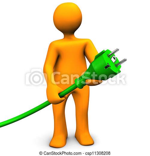 Green Energy - csp11308208