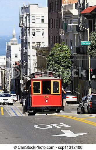 san Francisco city - csp11312488