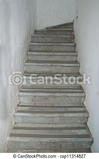 Stock fotos de escalera cemento csp11314827 buscar Modelos de escaleras de cemento