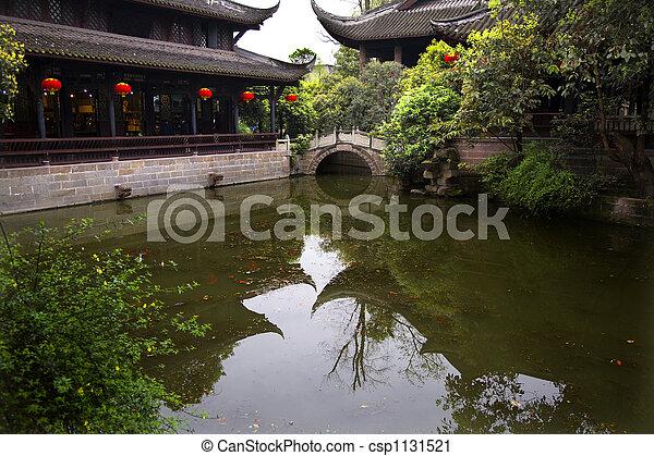 Red Lanterns China - csp1131521