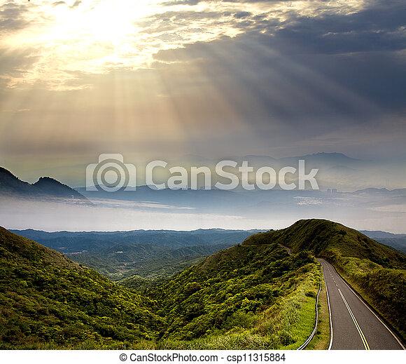 Way to beautiful place - csp11315884