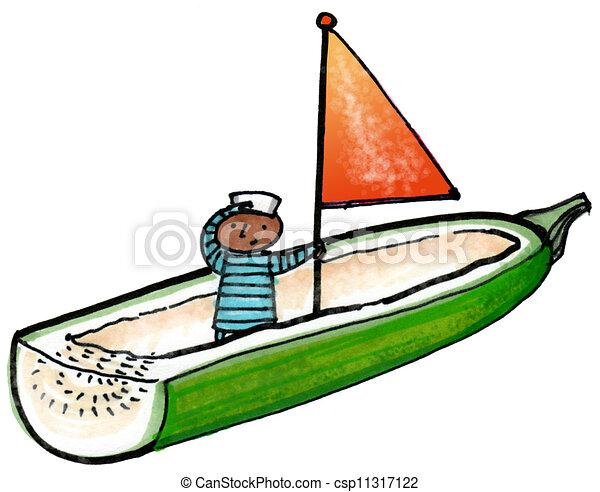 Zucchini Plant Clip Art Zucchini Boat Clip Art