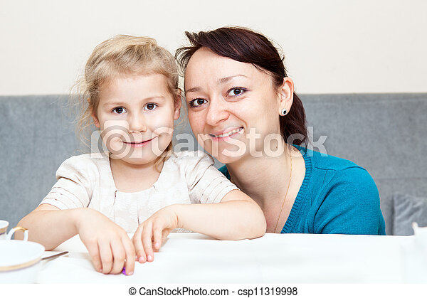 Happy young and adult women - csp11319998
