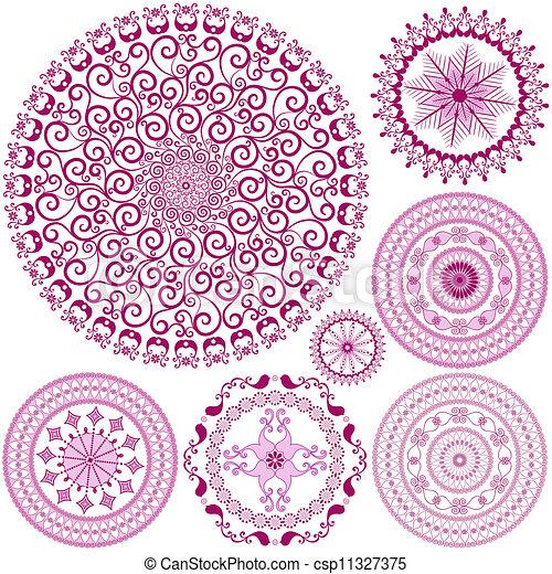 Circle Frame Clip Art Purple Circle Frame Clip Art