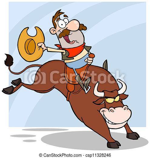 Bull - stock illustration, royalty free illustrations, stock clip art ...