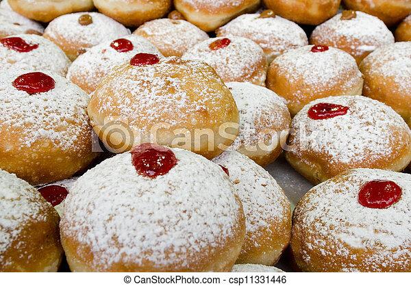 Jewish Hanukkah Doughnuts Recipes — Dishmaps