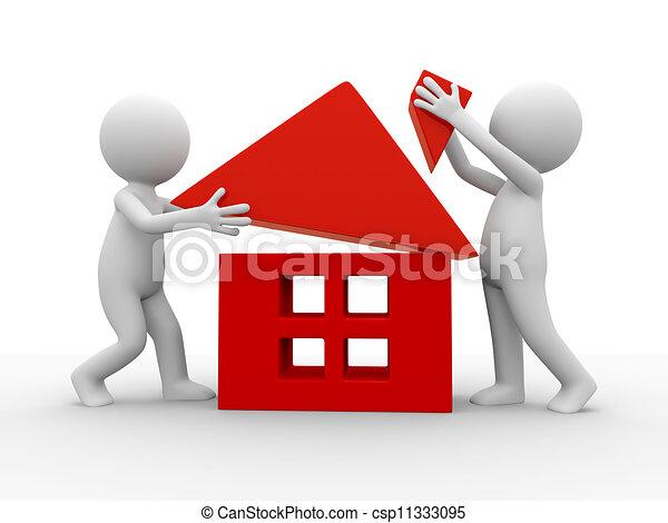 Haus Bauen Clipart